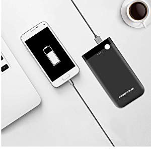 Ambrane 10000 mAH Lithium Polymer Power Bank with Micro/Type C Input for Android & iPhone (PP-11)