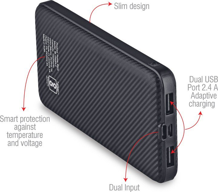 iBall 10000 mah Power Bank (IB-10000 LP)
